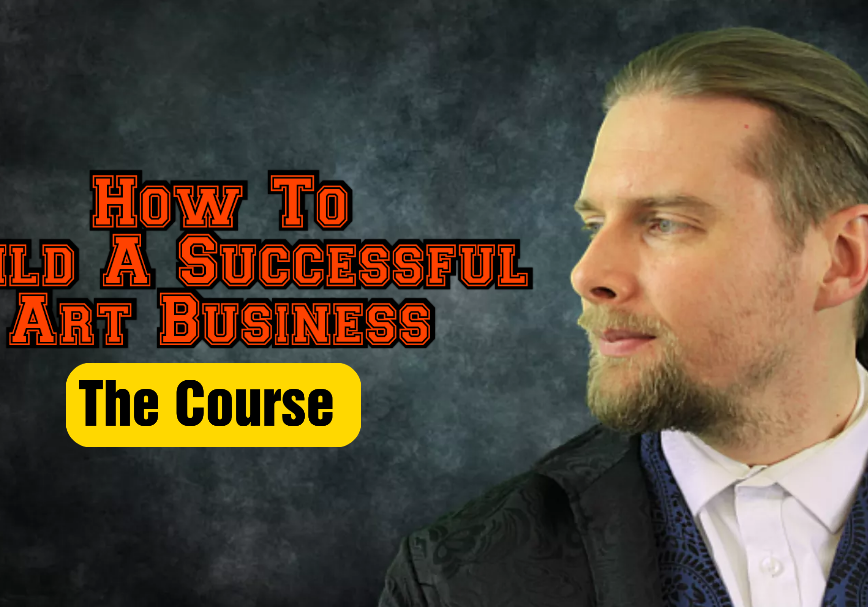 How to build a successful art business